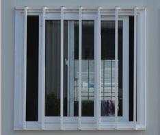 塑钢窗 1110×1100mm、1500×1100mm
