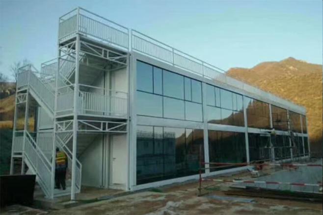双层装配式房屋工程案例