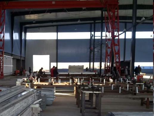 湖北轻钢结构厂家-生产车